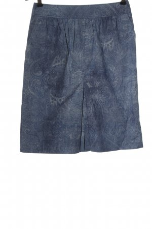 Bogner Flared Skirt blue-light grey allover print casual look