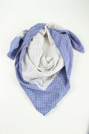 Bogner Neckerchief blue-white spot pattern casual look