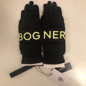 Bogner Thermal Gloves black-neon green