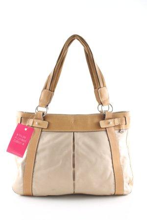 Bogner Handtasche creme-nude Business-Look