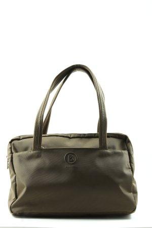 Bogner Handtasche khaki Motivdruck Casual-Look