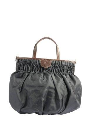Bogner Handtasche schwarz-braun Casual-Look
