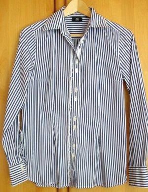 BOGNER Hemdbluse – blau-weiß Streifen – Gr. 36