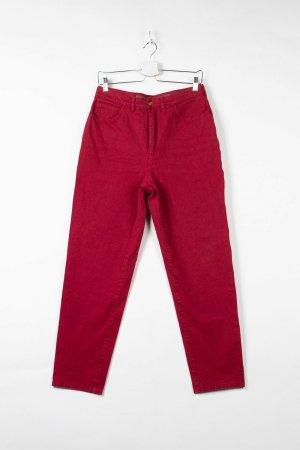 Bogner High-Rise Jeans in Rot (W42cm L71cm)