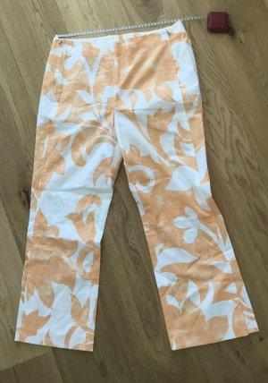 Bogner 7/8 Length Trousers white-light orange cotton