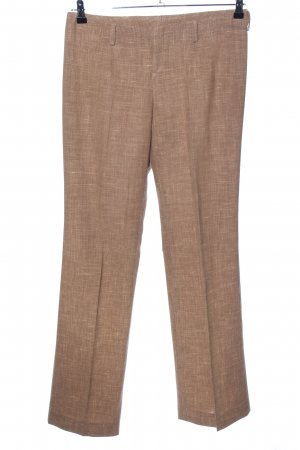 Bogner Lage taille broek brons-nude gestippeld zakelijke stijl