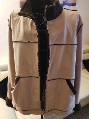 Bogner Jeans Fleece Jackets sand brown-dark brown