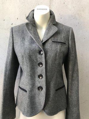 Bogner Blazer en tweed gris anthracite-gris foncé