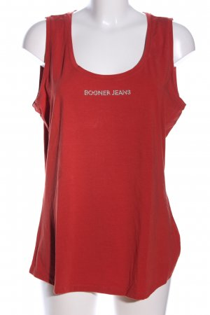 Bogner Jeans Basic Top rot Casual-Look
