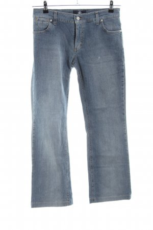 Bogner Jeans Boot Cut Jeans blau Casual-Look