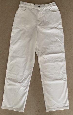Bogner Jeansy z prostymi nogawkami biały