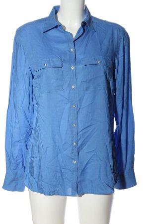 Bogner Jeans Hemdblouse blauw casual uitstraling
