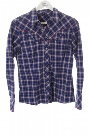 Bogner Jeans Shirt Blouse check pattern business style