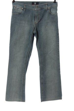 Bogner Jeans High Waist Jeans blau Casual-Look