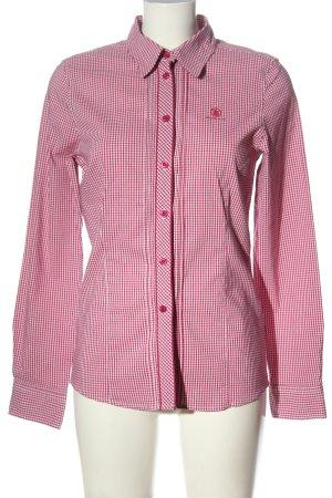 Bogner Jeans Lumberjack Shirt pink-white allover print business style