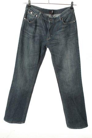 Bogner Jeans Jeans vita bassa blu stile casual
