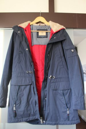 Bogner Jeans Giacca lunga blu-rosso Poliestere