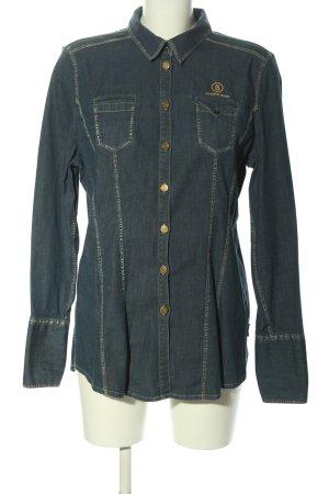 Bogner Jeans Denim Shirt blue casual look