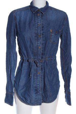 Bogner Jeans Jeansjurk blauw casual uitstraling