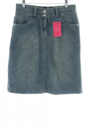 Bogner Jeans Spijkerrok blauw casual uitstraling