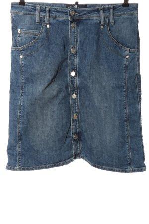 Bogner Jeans Jeansrock blau Casual-Look