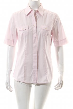 Bogner Jeans Kurzarm-Bluse hellrosa Casual-Look