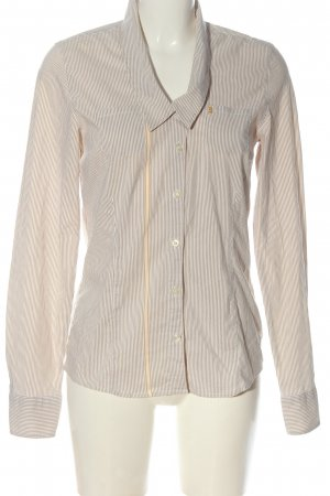 Bogner Jeans Long Sleeve Shirt nude-white allover print casual look
