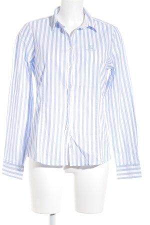 Bogner Jeans Shirt met lange mouwen wit-azuur