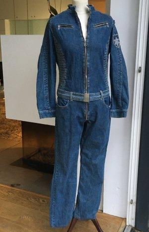 Bogner Jeans Jumpsuit blauw-leigrijs Katoen