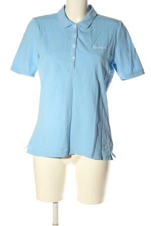 Bogner Jeans Polo blu stile casual