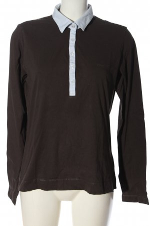 Bogner Jeans Polo Shirt brown casual look