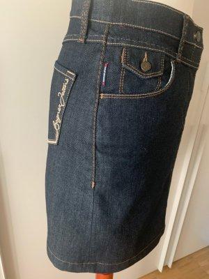 Bogner Jeans Spijkerrok donkerblauw Katoen