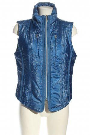 Bogner Jeans Quilted Gilet blue casual look