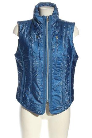 Bogner Jeans Pikowana kamizelka niebieski W stylu casual