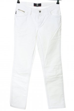 Bogner Jeans Jeans a gamba dritta bianco stile casual