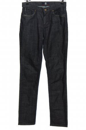 Bogner Jeans Straight-Leg Jeans schwarz Casual-Look