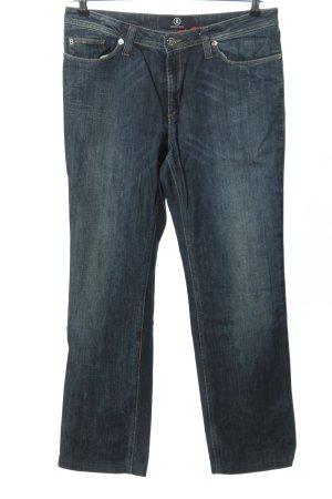 Bogner Jeans Jeans met rechte pijpen blauw casual uitstraling