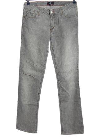 Bogner Jeans Jeans a gamba dritta grigio chiaro stile casual