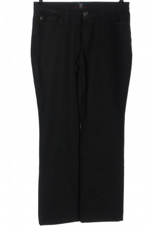 Bogner Jeans Jeans met rechte pijpen zwart casual uitstraling