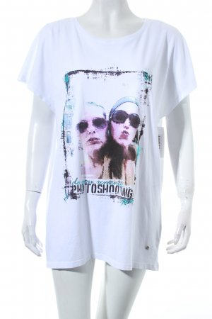 Bogner Jeans T-shirt wit prints met een thema
