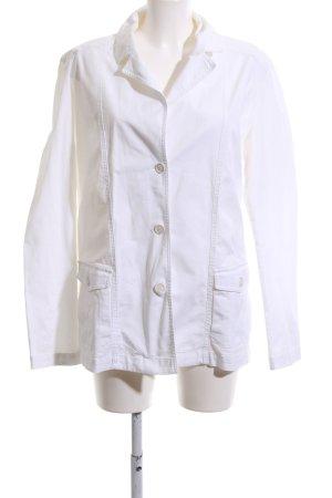 Bogner Jeans Overgangsjack wit casual uitstraling