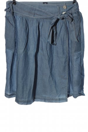 Bogner Jeans Wraparound Skirt blue casual look