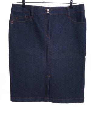 Bogner Gonna di jeans blu stile casual