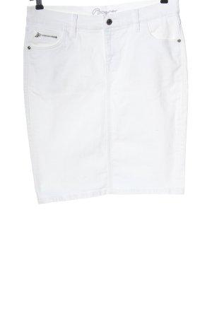Bogner Spijkerrok wit casual uitstraling