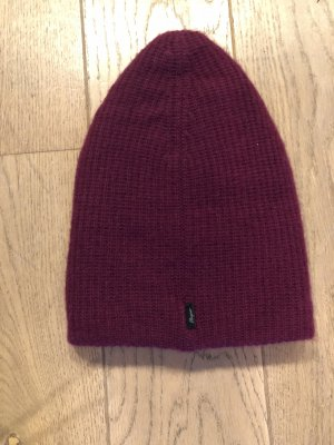 Bogner Knitted Hat bordeaux