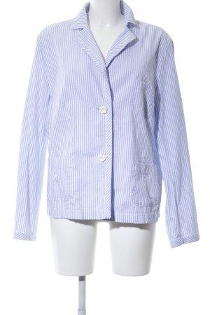 Bogner Kurz-Blazer blau-weiß Streifenmuster Casual-Look