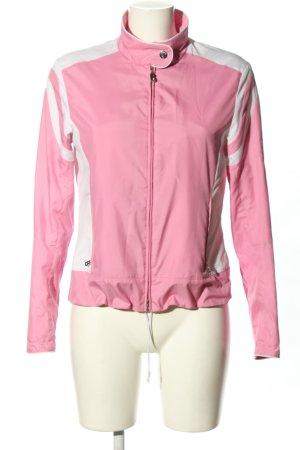 Bogner Kurzjacke pink-weiß Casual-Look