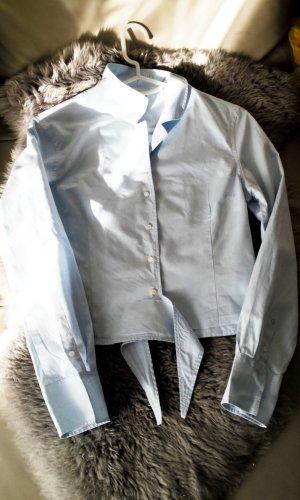 Bogner Langarm-Bluse, hellblau, Gr.34/36