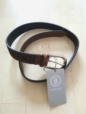 Bogner Belt multicolored leather