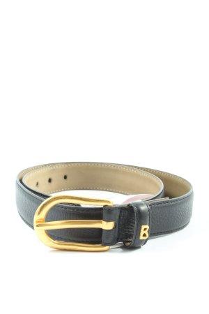 Bogner Cinturón de cuero de imitación negro estilo «business»